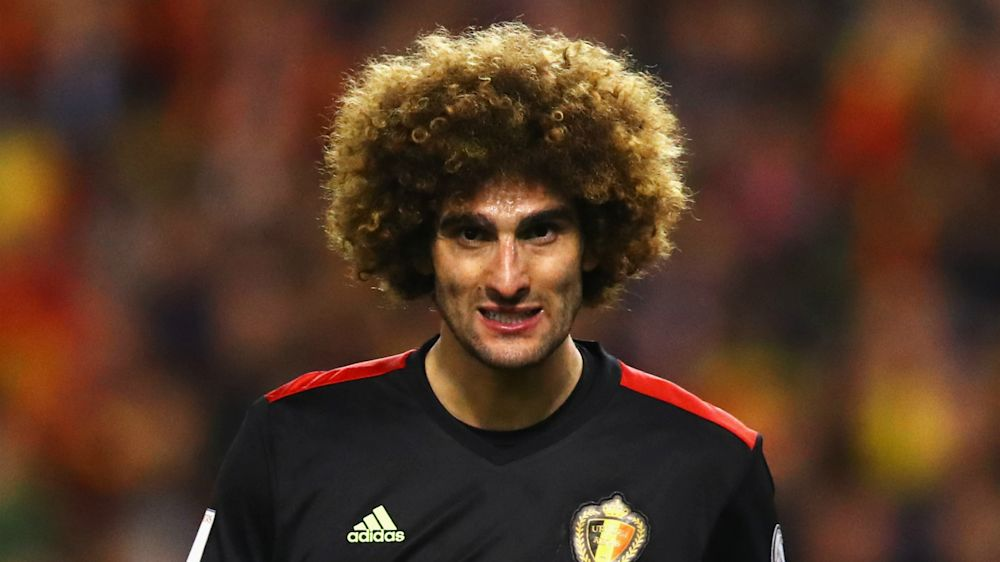 Man Utd's injury concerns mount as Fellaini limps out of Belgium match