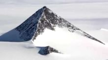 Mysterious pyramids found in Antarctica