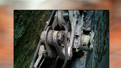 Raw: Possible 9/11 Plane Landing Gear Part Found
