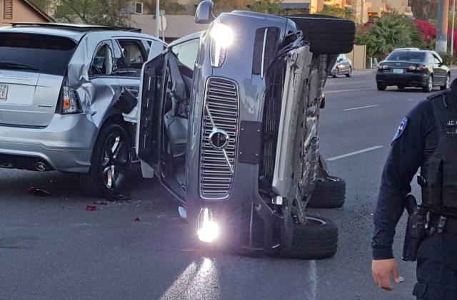 Uber pauses its self-driving efforts following Arizona crash (updated)