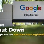 Google cancels neo-Nazi site's registration in a matter of hours