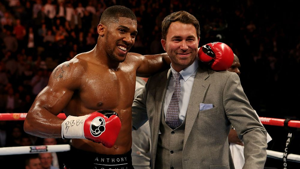 Joshua tells Wilder to put up or shut up as Hearn confirms negotiations to begin