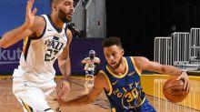 Utah Jazz take on the Golden State Warriors