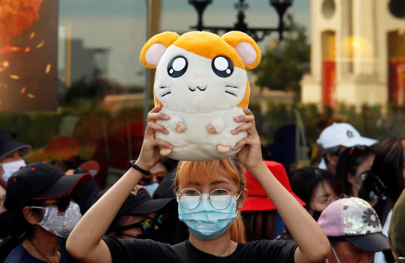 Hamster hero? How a Japanese cartoon became Thai youth protesters' symbol