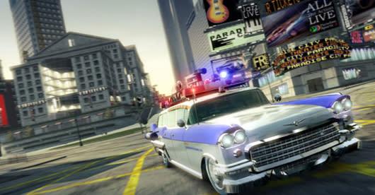 Burnout Paradise salutes Harold Ramis with free 'Legendary Cars'