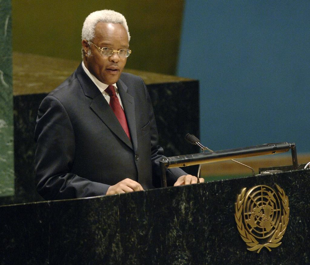 Edward Lowassa was Tanzania's prime minister between 2005 and 2008, when he resigned over corruption allegations, charges he denied (AFP Photo/Stan Honda)