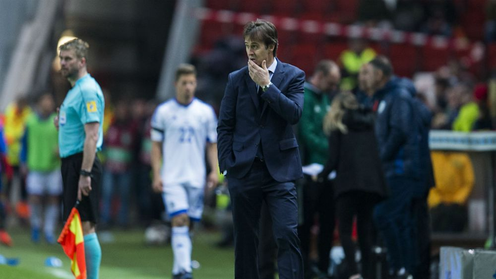 Lopetegui impressed by win over Israel side capable of 'scaring any team'
