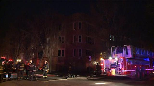 RAW: Fire crews work still and box alarm fire on city`s far South Side