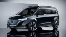 Mercedes rivela il concept di EQT, modello elettrico per la famiglia ed il tempo libero