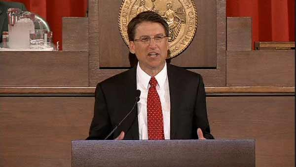 McCrory talks up priorities in State of State