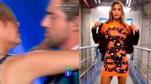 ¿Mensaje para Chenoa? Rosanna Zanetti se pone un vestido con una cobra