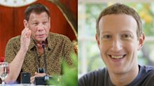 Death of Facebook? Duterte threatens to ban social media giant over account purge