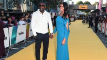Idris Elba walks yellow carpet for directorial debut Yardie with fiancé Sabrina Dhowre amid James Bond speculation