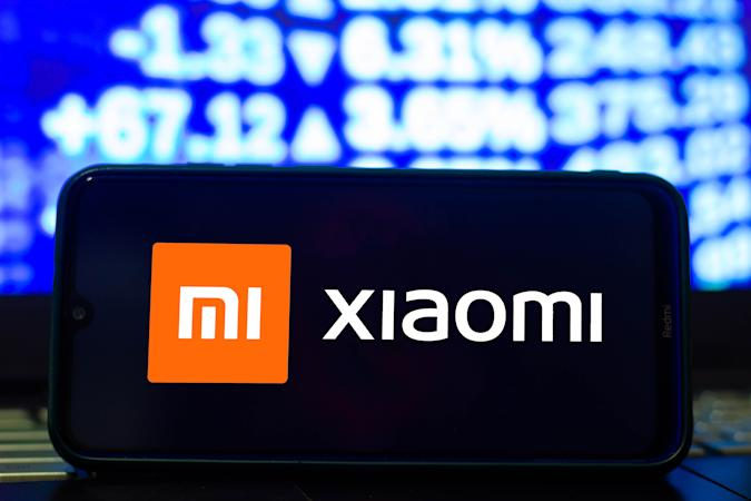 BRAZIL - 2021/03/24: In this photo illustration a Xiaomi logo seen displayed on a smartphone. (Photo Illustration by Rafael Henrique/SOPA Images/LightRocket via Getty Images)