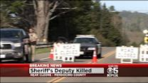 Mendocino County Sheriff's Deputy Killed, Suspect Kills Self