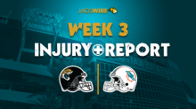 Jags injury report: WR D.J. Chark practices on a limited basis Monday