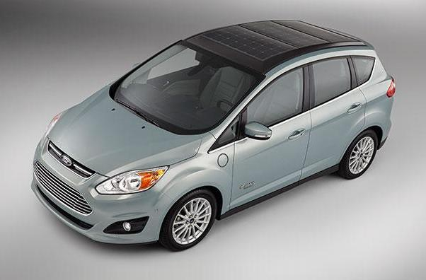 Ford's C-MAX Solar Energi Concept is powered by a roof panel, rolls to CES next week