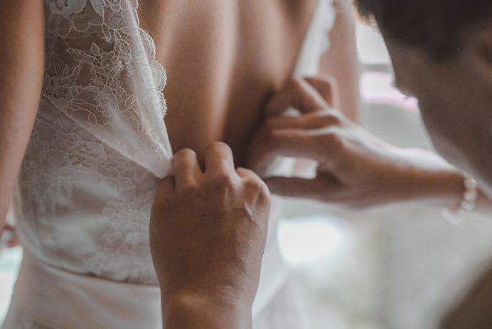 Bride-to-be accused of 'tearing a family apart' over her unconventional wedding dress choice: 'That's their problem'