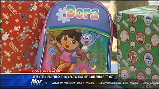 Attention parents: This year's list of dangerous toys