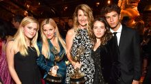 From Reese Witherspoon and daughter Ava to Liev Schreiber and son Kai, the Emmys were a family affair