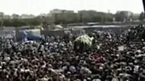 Raw: Iran Dissident's Funeral Sparks Protest