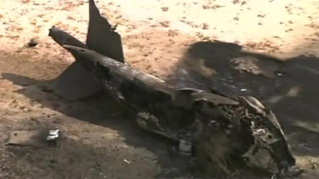 Military aircraft crashes in Arizona