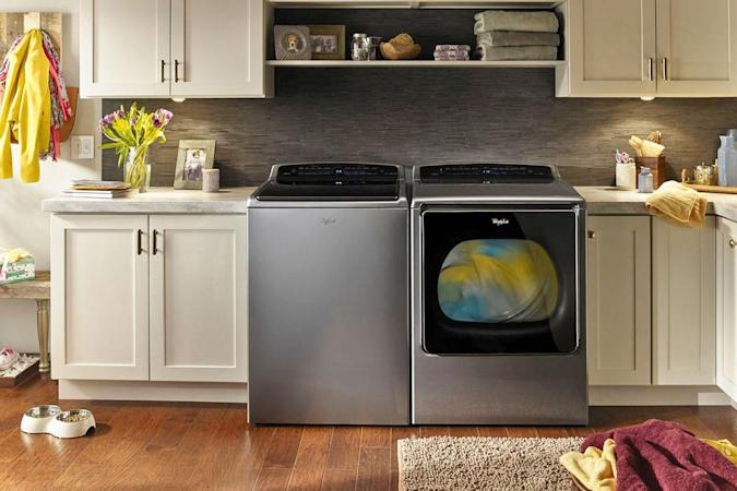 Whirlpool washer and dryer can order refills with Amazon Dash