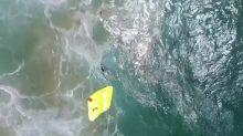 Sauvés de la noyade grâce à un drone