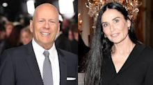 Demi Moore spends Mother's Day with ex Bruce Willis and their big, blended family