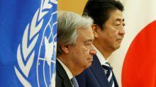 Don't sleepwalk into war over N. Korea, warns UN boss
