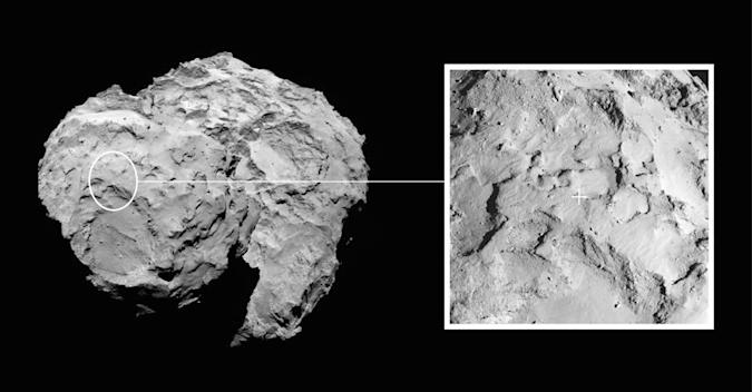 The Big Picture: Scientists pick a landing site for their historic comet probe