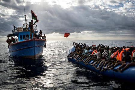 World Press Photo Awards 2017 - Spot News - Third Prize, Stories - Mathieu Willcocks - Mediterranean Migration