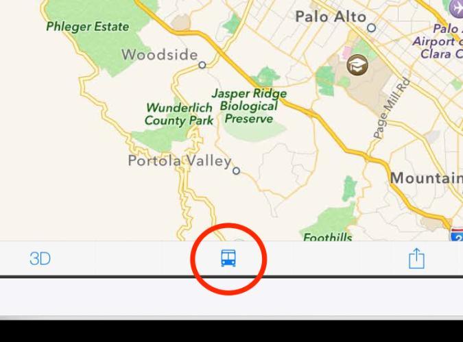 Deal: ÖPNV-Infos in Apples Karten unter iOS 8