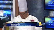 Chef celebrates Father's Day with steak, lobster