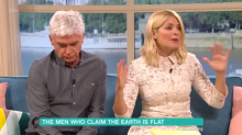 Phillip Schofield and Holly Willoughby baffled by Flat Earthers on This Morning