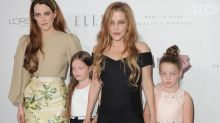 Lisa Marie Presley Steps Out with Three Lookalike Daughters in Rare Red Carpet Appearance