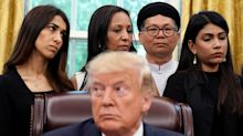 'Absolutely shameful': Trump slammed for asking Yazidi activist Nadia Murad 'You had the Nobel Prize?'