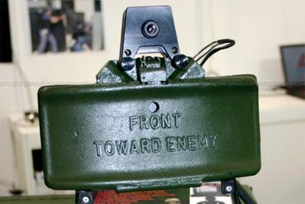 Camera kit smartens up Claymore land mine