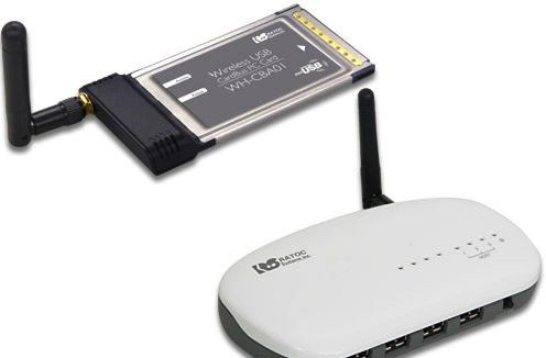 Ratoc introduces Wireless USB kit for your PCMCIA-equipped laptop