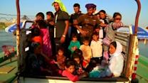 Yazidis refugees flee Islamic State persecutors