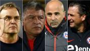 Desde Bielsa hasta Pizzi, ¿cómo fueron los debuts de los técnicos de Chile?