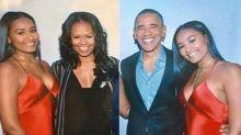 Sasha Obama celebrates 16th birthday 'looking like a model'