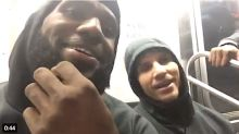 LeBron James Rides The New York Subway And Ticks Off A Passenger