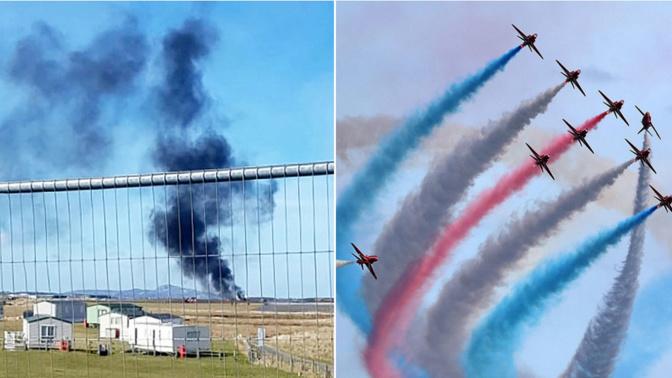 RAF engineer dies after Red Arrows crash