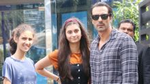 Arjun Rampal's Day Out With Daughters Myra and Mahikaa Is Too Cute To Miss! View Pics