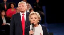 Trump, without evidence, cites Ukraine ties to ex-rival Clinton