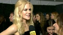 Nicole Kidman Says She's 'Mortified' by Rami Malek Golden Globes Moment