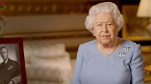Queen reminds nation to 'never give up' in VE Day broadcast as she praises COVID-19 response