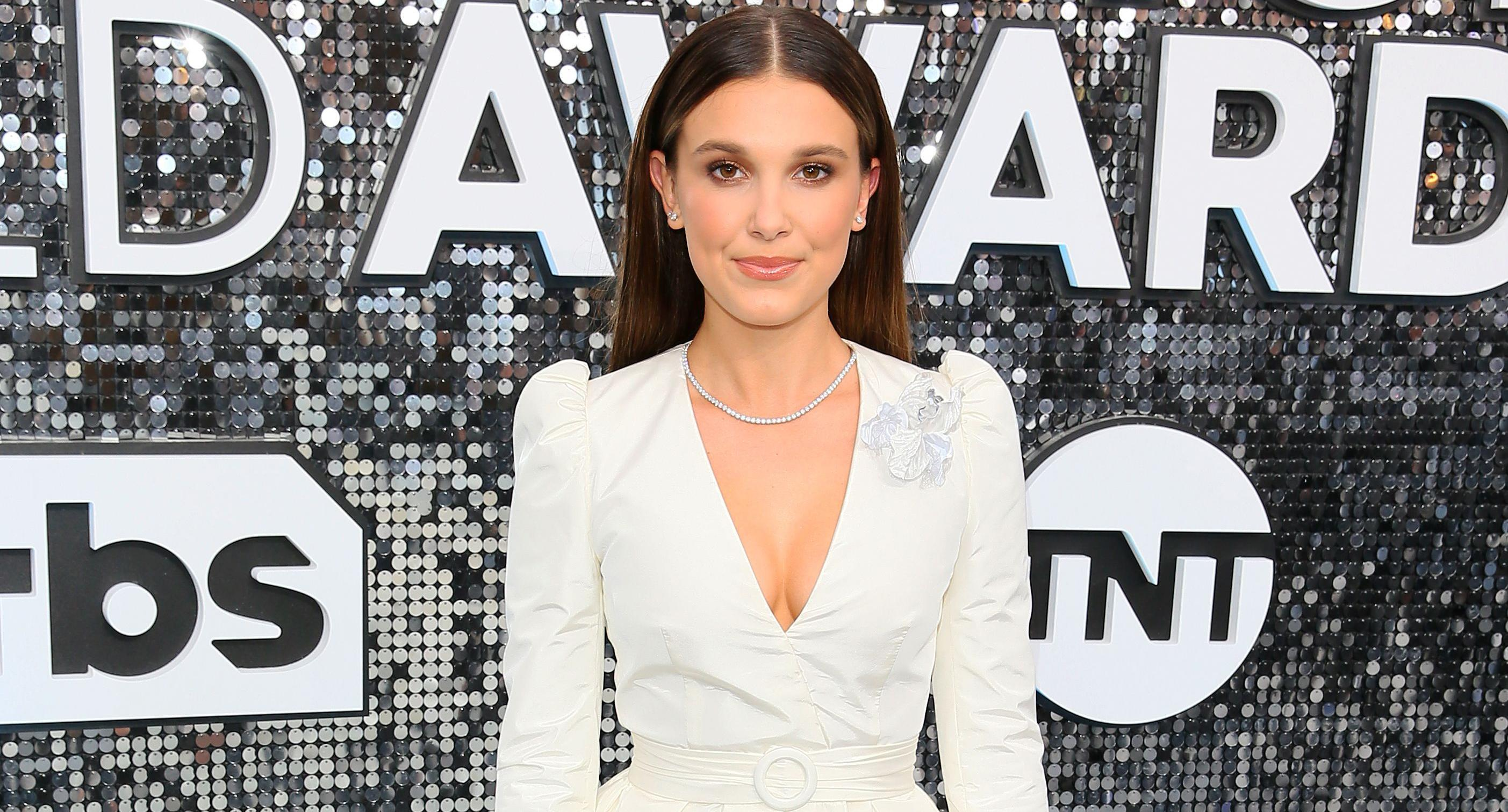 Millie Bobby Brown Inappropriate Sag Awards Look