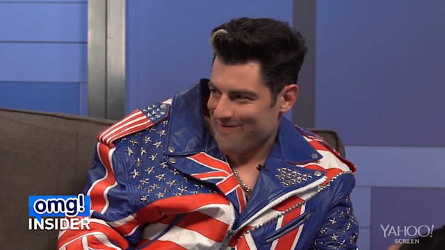'New Girl' Star Max Greenfield Brings Vanilla Ice to 'Arsenio'